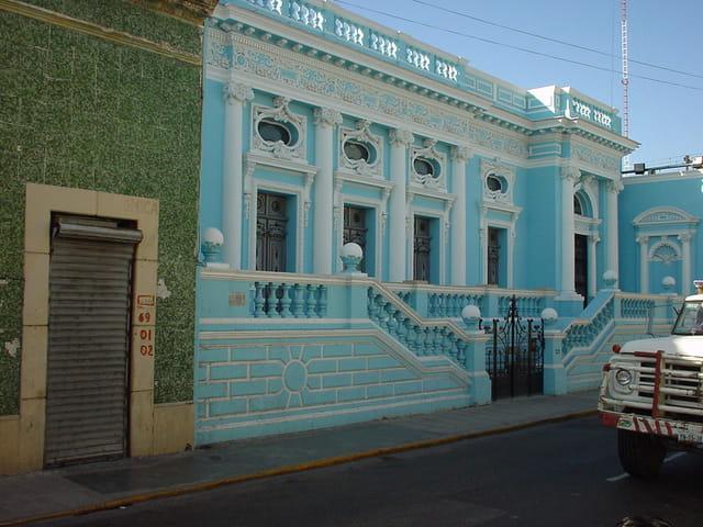Maison coloniale de chichen itza