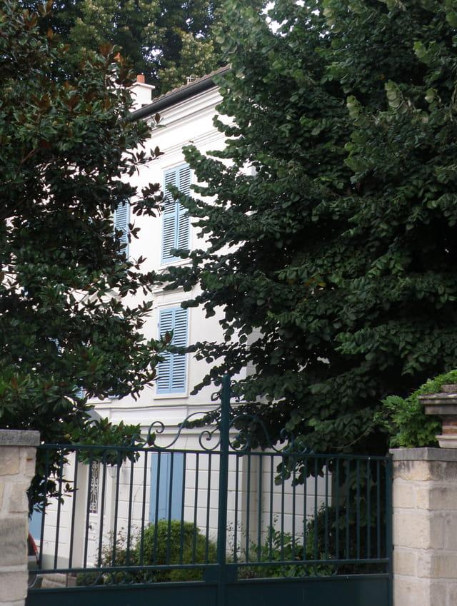 Maison de Félicien David, au Pecq
