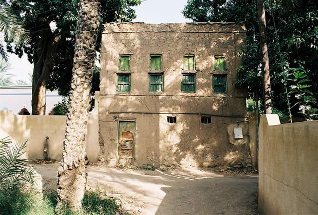 Maison de la palmeraie de Al-Hamra