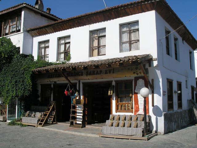 Maison grec en turquie