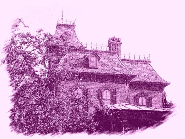 maison hanté disney