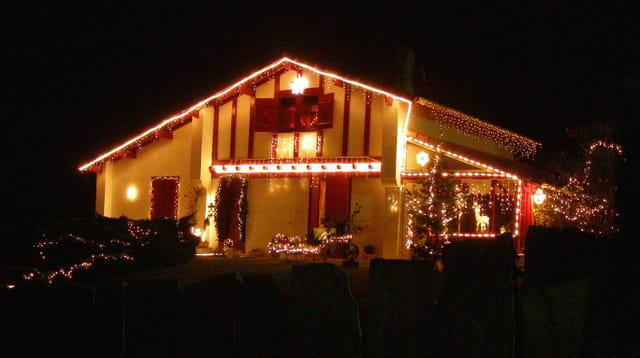 Maison illuminée 1
