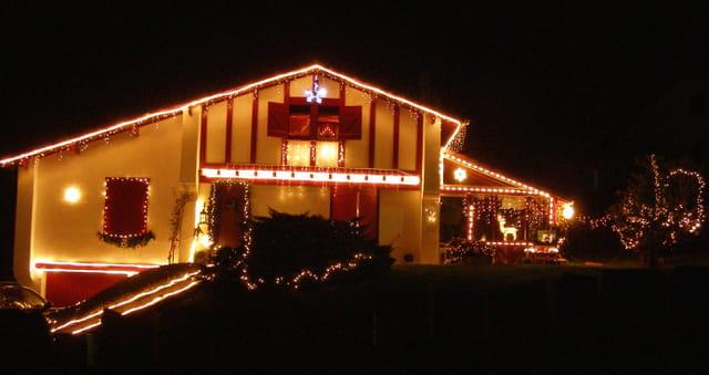 Maison illuminée 2