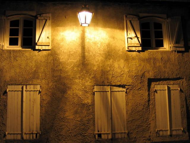 Maison la nuit