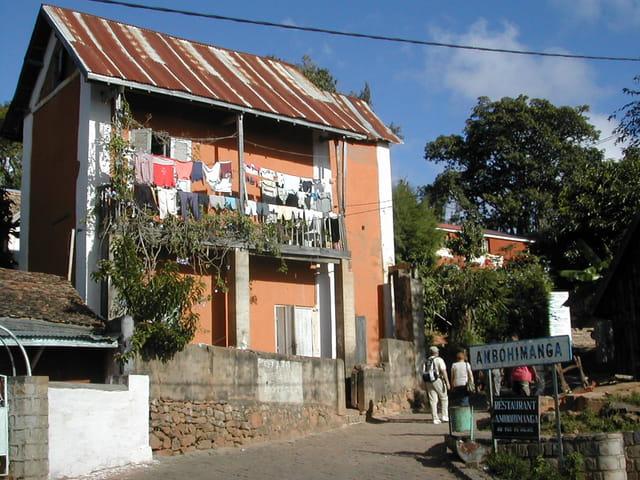 Maison malgache restaurée