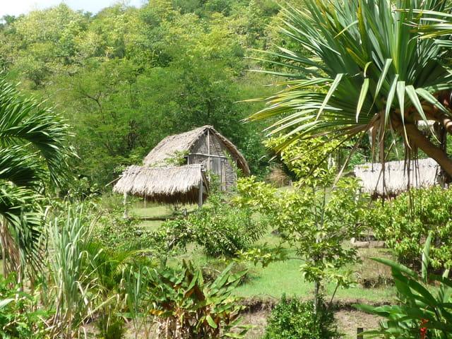 Maison qui abritait les esclaves