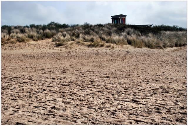 Maison sur la dune