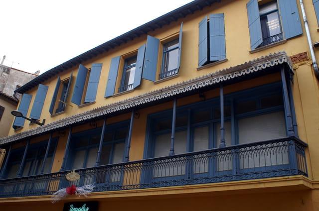 Maison typique catalane
