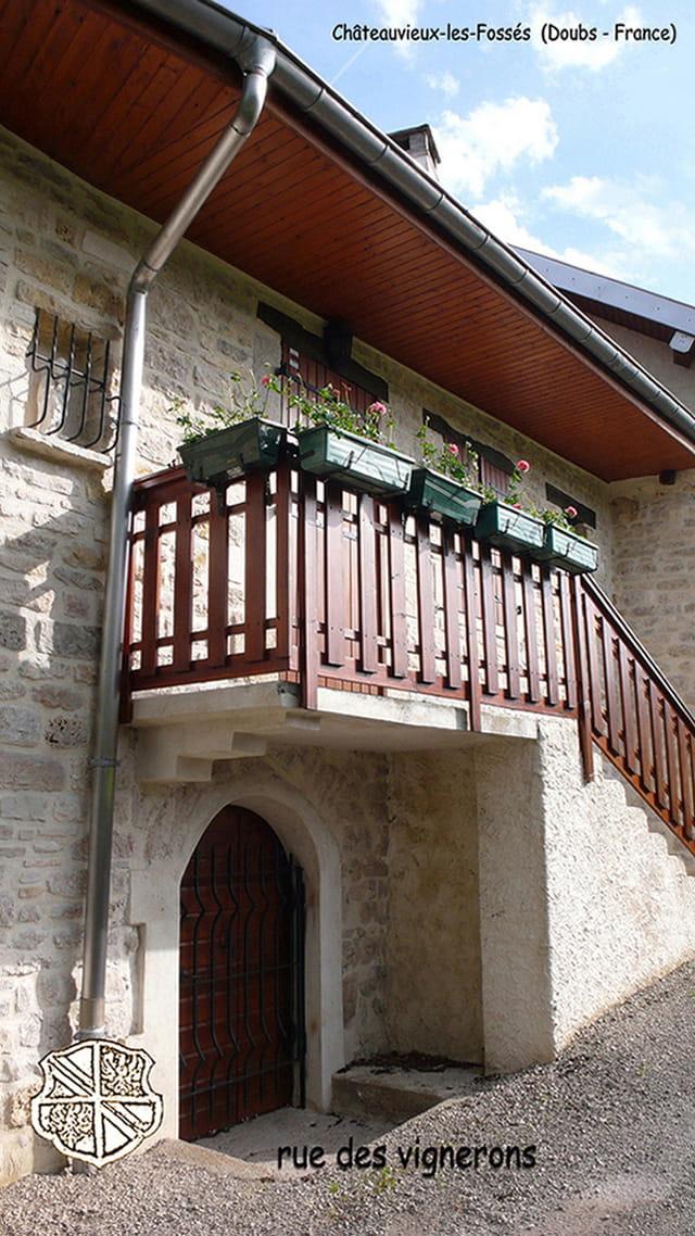 Maison vigneronne - vallée de la Loue