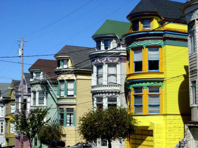 Maisons de couleur