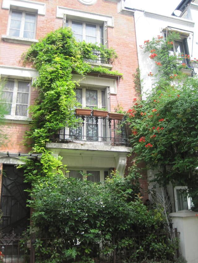 Maisons de ville, à Montmartre (6)