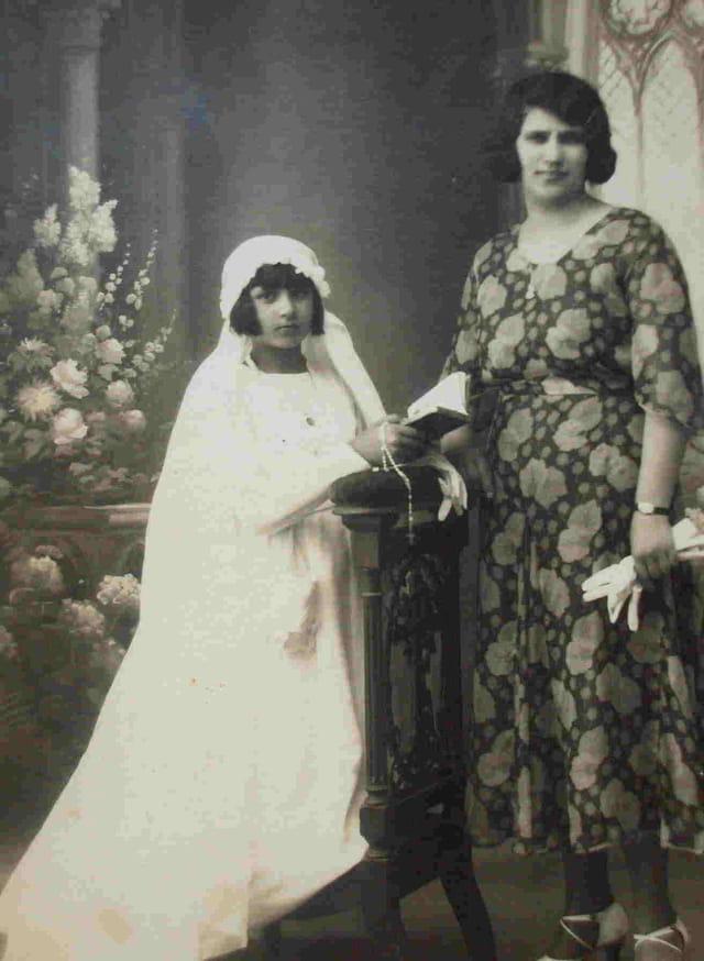 Mama en 1932