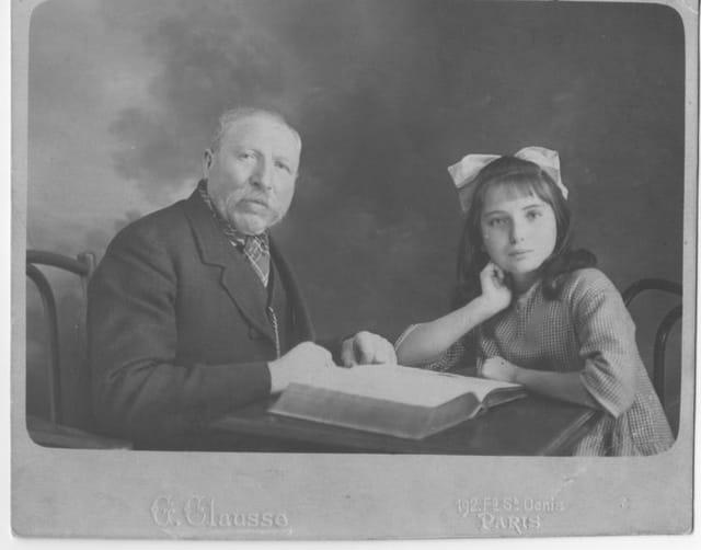 Maman et son grand-père