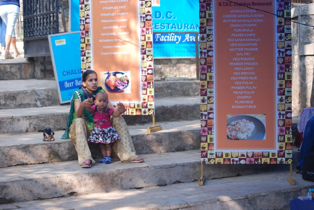 maman Indienne et bébé