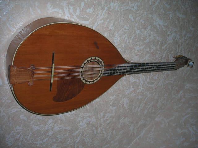 mandoline basse (mandoloncelle)- ancien instrument