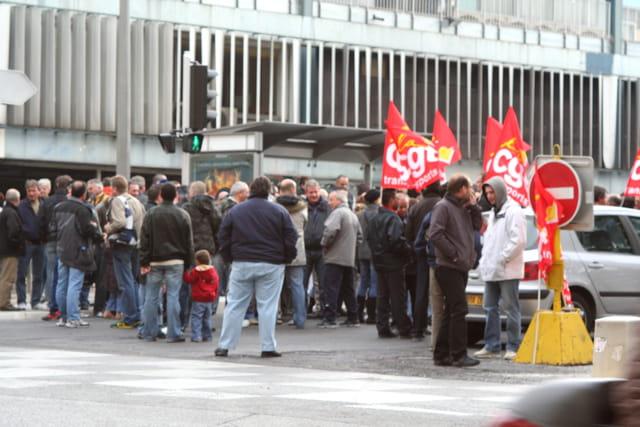 Manifestation de grève