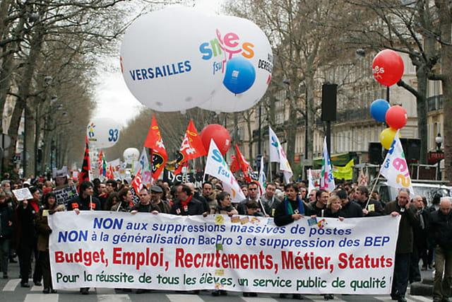 Manifestation des enseignants