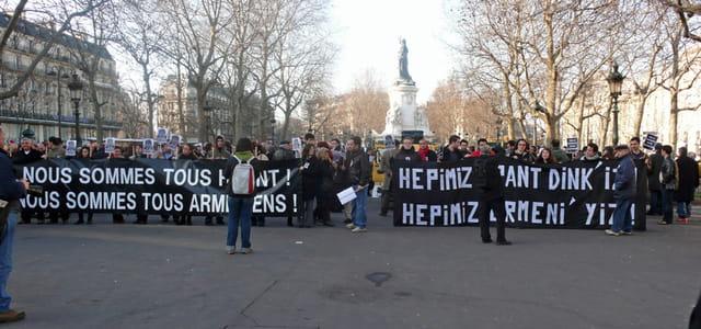 Manifestation Hrant Dink