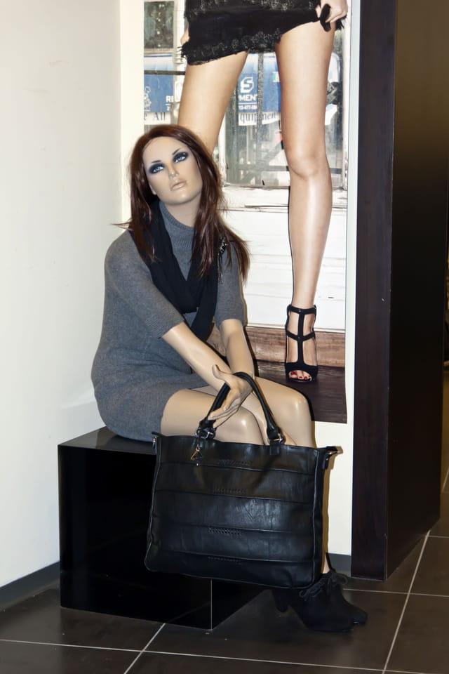 Mannequin chez Beneton