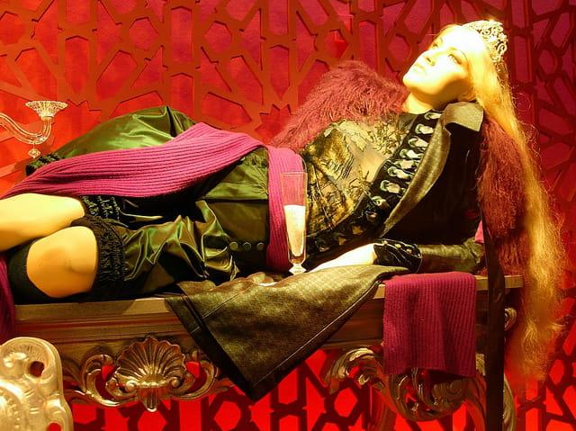 Mannequin en vitrine