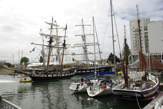 Manoeuvre dans le port
