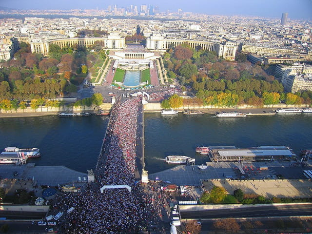 Marathon de Paris 14 Octobre 2007