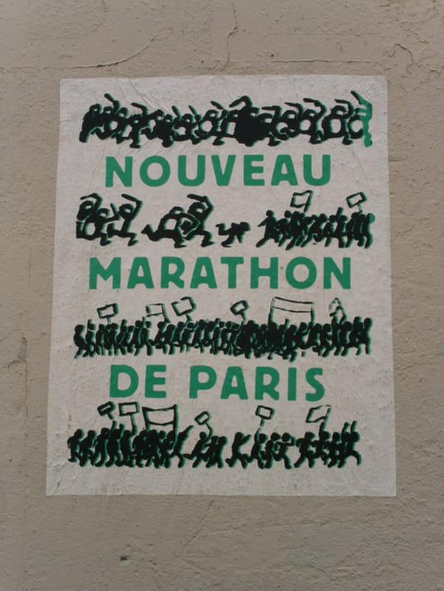 Marathon de paris ...