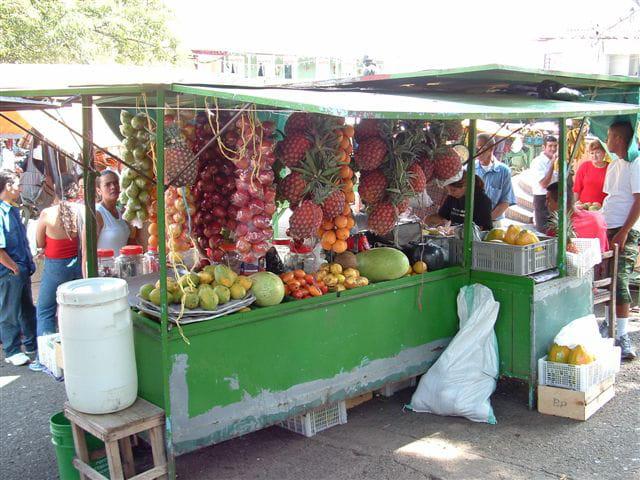 Marchand de fruits