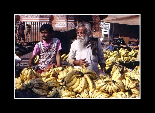 Marchands de bananes