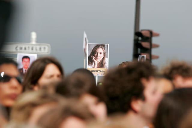 Marche blanche pour libérer Ingrid Betancourt