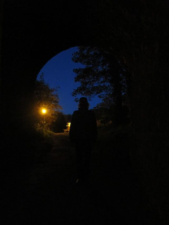 Marche dans la nuit