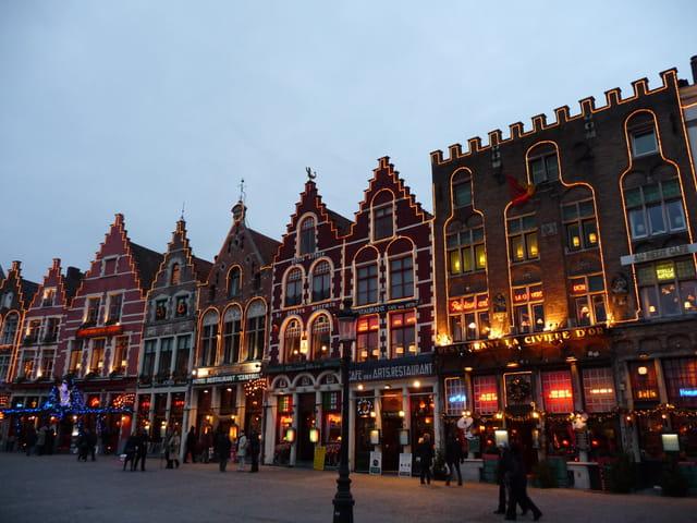 Marché de Noël à Bruges