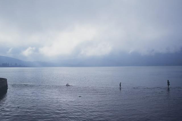 Marche sur l'eau