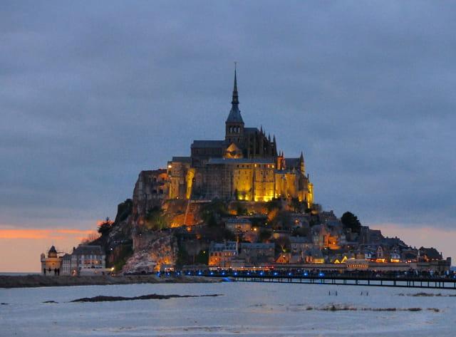 Mar e haute au mont saint michel par cyndie medeiros sur l for Au jardin st michel pontorson france