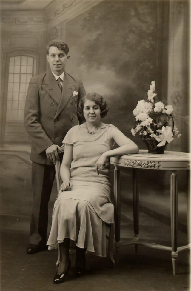 Mariage de Louis Sonneville & Germaine Pollet