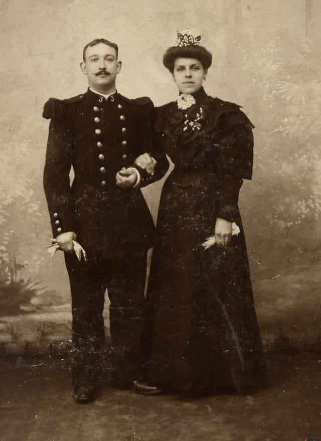 Mariage de mes G parents  Villette Degransart