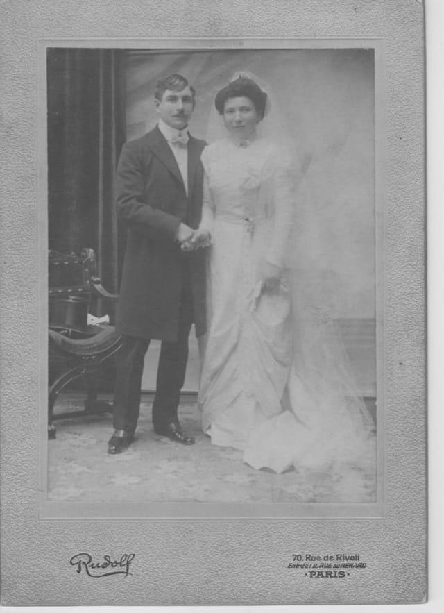 Mariage de mes grand-parents