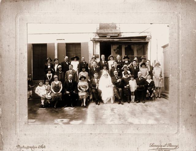 Mariage de mes grands-parents
