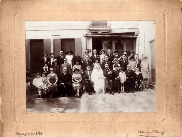 Mariage de mes grands-parents maternel