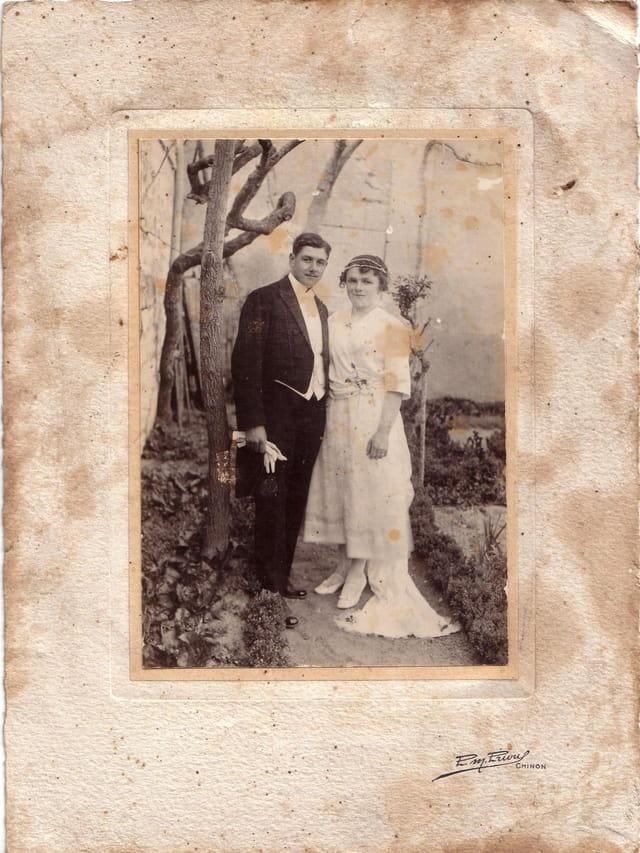 Mariage des grands parents