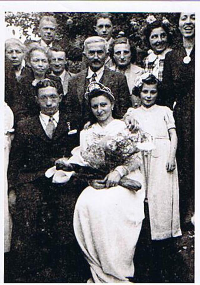 Mariage pdt la guerre 1942