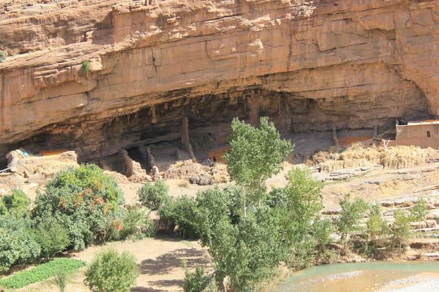 Maroc de Tamtattouchte à Goulmima