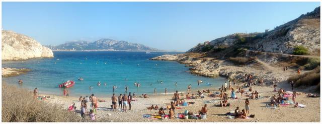 Marseille (13) - �le de Frioul - La plage