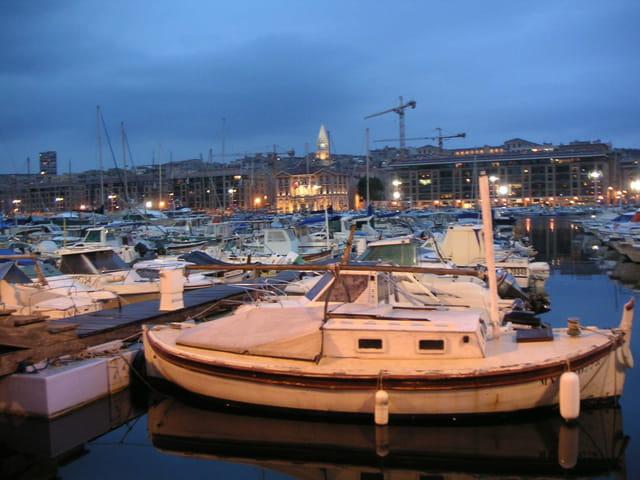 Marseille la bleue