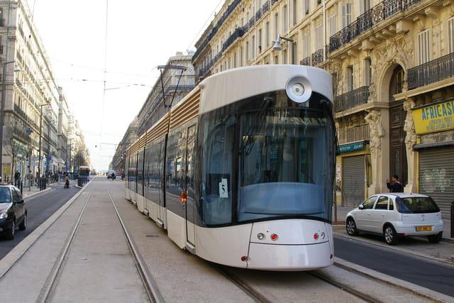Marseille tramway