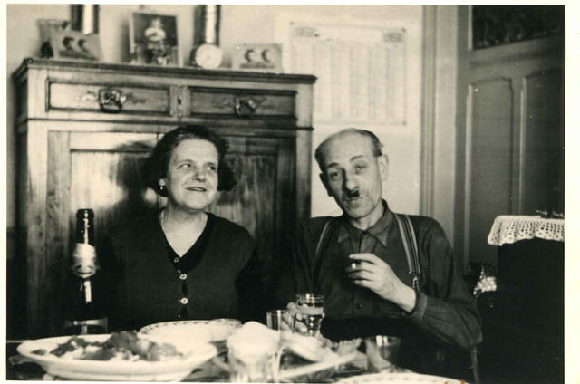 Marthe & Edouard, mes grands-parents