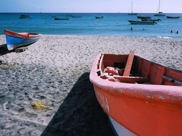 Martinique. plage de sainte-anne
