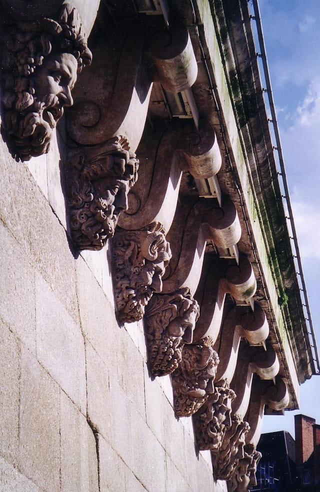 Mascarons du Pont-Neuf