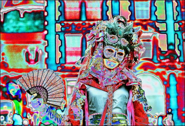 Masque vénitien 4 à Stavelot