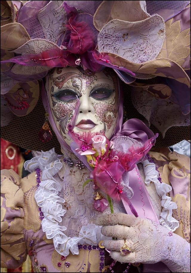 Masque vénitien 5 à Stavelot
